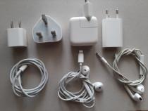 Incarcator iphone / casti = handsree / apple originale