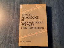 Actiuni psihologice in confruntarile miltqre contemporane