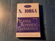 Neamul romanesc Basarabia vol. 2 N. Iorga