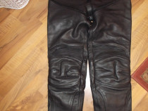 Pantaloni piele moto LOUIS ,Germania ,calitate superioara