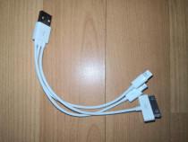 Cablu Încărcare 3 in 1
