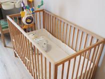 Pachet nou nascut – patut, carusel, masuta de infasat, etc