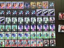 Star Wars cartonașe plasticate 92 de bucăți de la Kaufland
