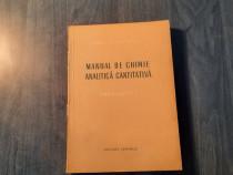Manual de chimie analitica cantitativ gavrimetria Macarovici