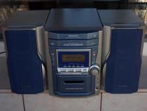 Combina PANASONIC Sa-Pm11 radio casetofon 5 cd boxe telecoma