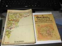 Antique 1929 Ghidul Turistului si Automobilistului