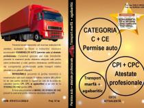 Categoria C + CE și Atestate profesionale