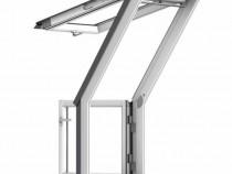 Fereastra de mansarda pentru acces pe terasa model GEL/VEA 3