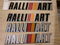 Ralliart Sticker, Autocolant, Abs, Aluminiu