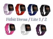 Curea silicon schimb inlocuire bratara ceas Fitbit Versa
