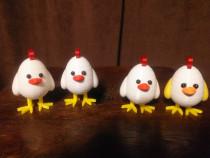 Figurine pui pt. Paște, listate la imprimanta 3D la comanda