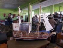 Macheta - Corabie din lemn