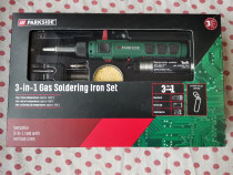 Set ciocan de lipit/Letcon cu gaz si accesorii ParkSide 1300