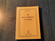 De la Eminescu la Cioran de Ion Dur cu autograf