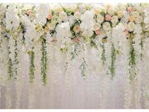 Fundal floral foto-video 3x2m pentru cabina foto, evenimente