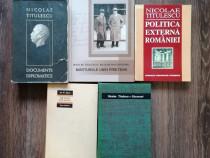 Lot 5 carti Nicolae Titulescu