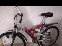 "Bicicleta Mixta MTB SHANNON 26""-21 Viteze Full Suspension"