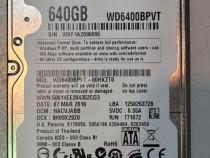 HDD-Hard Disk Laptop 640 GB - 500 GB - 250 GB