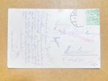 C472-I- Carte Postala militara Feldpost trimisa soldat 1909.