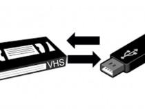 Transfer casete VHS si VHS-C pe DVD,USB stick sau Hdd extern