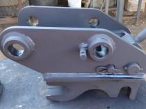 Cuplă/prindere rapidă cupă - buldoexcavator/excavator