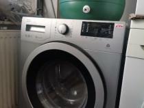 Mașina de spălat Beko modificata pe butoi