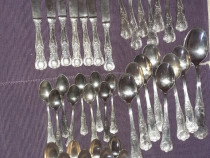 Tacâmuri din argint 800