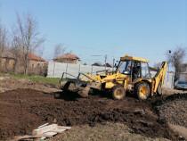 Închiriez buldoexcavator pentru lucrări constructii