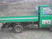 Transport nisip balast piatra concasata excavari nivelari
