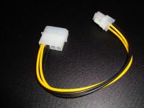 Cablu adaptor molex p4 procesor pentru surse mini itx