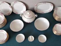 Serviciu masa portelan 12 persoane cu 12 tipuri de piese