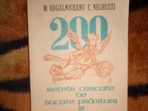 200 retete cercate de bucate prajituri ( carte de bucate )