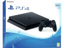 Consola SONY PlayStation 4 Slim (PS4 Slim) 500GB, Jet Black,
