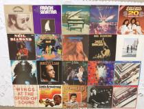 2.Vinyluri cu albume originale, muzica anilor '70-'80-'90