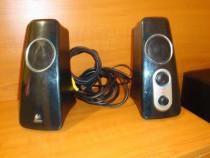 Boxe calculator sistem audio logitech 2.1 sunet 360grade sub
