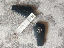 Cheie originală cu telecomanda Mercedes Benz c180