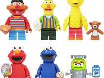 Set 6 Minifigurine tip Lego Sesame Street