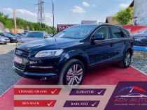 Audi q7 3.0 - diesel - livrare - rate fixe - garantie