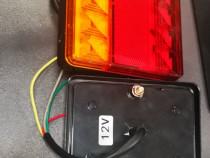 Lămpi spate LED atv uri remorcute de mici dinensiuni