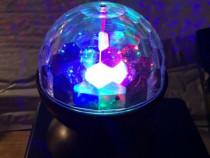 Led party light lampa discoteca acasa party rotativa