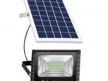 Proiector, 45 W, Cu Panou solar, Cu telecomanda, c597