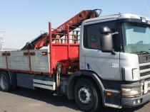 Transport marfa, Inchiriere camion cu macara