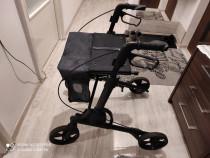 Carucior ajutator, cadru mobil, rolator