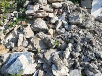Donez spartura piatra rezultata din demolare placa beton
