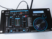 Mini mixer Ibiza 2 canale,USB,BT.