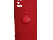 Husa Telefon Silicon Samsung Galaxy A02s Liquid Red Ring