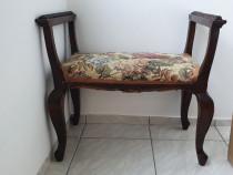 Taburet Scaun stil Rococo lemn