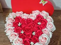 Aranjament floral 35 trandafiri