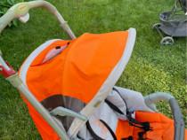 Cărucior copii Douceur portocaliu