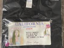Tricou Olivia Rodrigo Drivers License (Black Tee-M)- SIGILAT